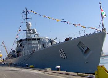 """По време на учението """"БРИЗ 2012"""" трябва да се потвърди сертификацията на кораб от ВМС на Република България - фрегатата """"Дръзки""""."""