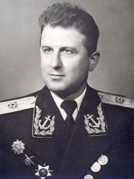Контраадмирал Бранимир Орманов – командващ ВМС – 1950 г.
